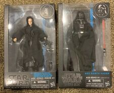 Star Wars The Black Series 6 inch Emperor Palpatine #11 And Darth Vader #02