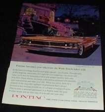 1960 Pontiac Bonneville Convertbile Ad, NICE!