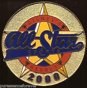Disney Pin: Walt Disney World - Disney's All-Star Sports Resort 2000: Logo