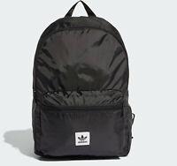 ADIDAS ORIGINALS PACKABLE BACKPACK BAG SCHOOL GYM MEN WOMEN KIDS NEW BLACK RARE