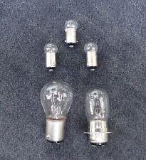 Honda CT70 12V Replacement Bulbs (5 pc kit) Speedometer3,headlight1,tail light1