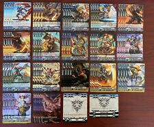 CARDFIGHT VANGUARD V-EB07 KAGERO R AND C PLAYSET (4x EACH CARD) + 4 MARKERS