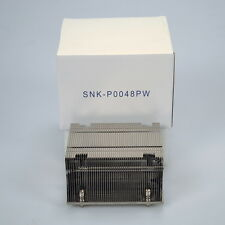 SuperMicro 2U Passive CPU Heat Sink Socket LGA2011 Square ILM SNK-P0048PW
