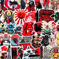 65 Samurai Bushido Sticker Bomb Japanese Kanji Mask Laptop Car Phone Vinyl Decal