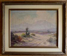 JOHN ANTHONY CONNER, LISTED PLEIN AIR DESERT OIL CALIFORNIA IMPRESSIONIST CALIF