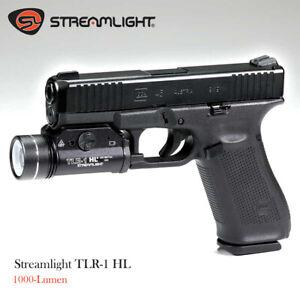 Stream light TLR-1 HL 1000-Lumen Tactical Weapon Mount Light-Black,Box Packaged
