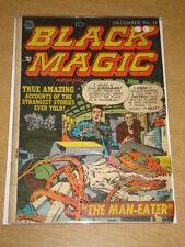 BLACK MAGIC VOL 3 #1 G+ (2.5) CRESTWOOD PRIZE COMICS JACK KIRBY DECEMBER 1952