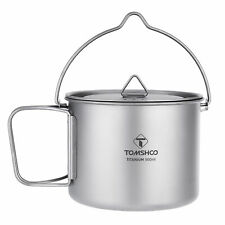 New listing Tomshoo 900Ml Pot Portable Water Mug Cup with Lid and H7W7