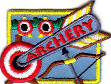 ARCHERY Iron On Patch Sport Competition Skill