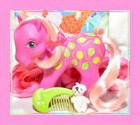 ❤️My Little Pony MLP G1 Vtg Twice as Fancy TAF Up Up and Away & Original Comb❤️