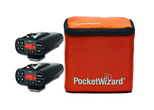New PocketWizard Plus IV Bonus Bundle 3, Includes 2x Transceiver and Case