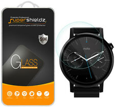 3x Supershieldz Moto 360 42mm (2nd Generation) Tempered Glass Screen Protector