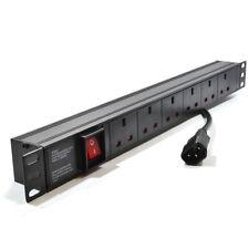Unité de distribution 6 façon UK 19 horizontale pour PDU en rack c14 plug [ 007755 ]