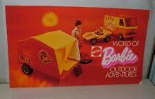 """New Listing% 1973 Mattel World Of Barbie Double Sided Store Display Super Rare 34"""" Long"""