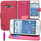 Custodia Cover Portafoglio Silicone PU Gel Samsung Galaxy Trend 2 Lite SM-G318H
