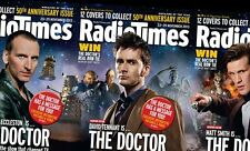 Radio Times 50 ANNIVERSARY Doctor WHO David Tennant,Esther Rantzen,Barry Norman