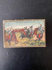 Boîte de plumes Sergent-Major «Bataille de Reischoffen (1870)» scellée