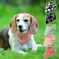 5pcs/pack Soft Bandana-Style Neck Scarf Neckerchief Dog Collars For Chihuahua