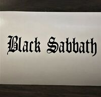 Black Sabbath Medieval Vinyl Die Cut Decal Window Wall CD Skate Board Sticker