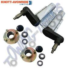 """Pair of 750 kg capacity Knott Avonride Trailer Suspension Units with 4"""" PCD hubs"""