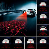 Car Auto Fog Rear Laser LED Lamp Brake Parking Warming Signal Light Taillight