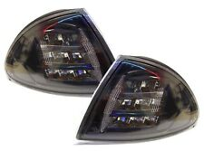 For BMW 3 Series E46 Saloon Touring 1998-01 Black Smoked LED Front Indicators
