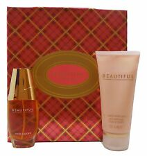 BEAUTIFUL ESTEE LAUDER GIFT SET WITH EDP SPRAY 30ML+PERFUMED BODY LOTION 75ML(D)