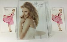 Kylie Minogue 'At Home' Rare Official Promo Card Shop Display, Unused Sealed (a)
