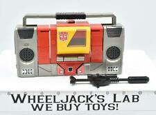 Blaster * WORKS 100% Complete 1985 Vintage G1 Transformers Boombox Action Figure