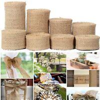 matériel mariage de décoration le ruban de jute cadeau d'emballage sac warrping
