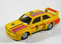 "Corgi Junios M3 BMW ""Silverstone"" No 5 Yellow Racing Car Diecast Scale Model B13"