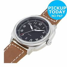 Bulova Men's Stainless Steel Military Watch.From the Official Argos Shop on ebay