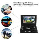 7.8''Portable Swivel Screen DVD Player Widescreen USB SD Game TV & Radio
