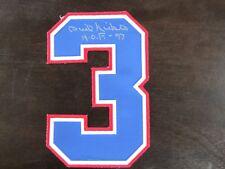 Phil Niekro Autograph / Signed Jersey Number Atlanta Braves HOF 97