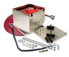 Taylor 48201 NHRA Trunk Mount Aluminum Battery Cable Box Kit 11.25 X 9.5 X 8.75