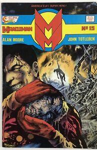 MIRACLEMAN NO.15 | MOORE AND TOTLEBEN 1988 ECLIPSE COMICS NM-