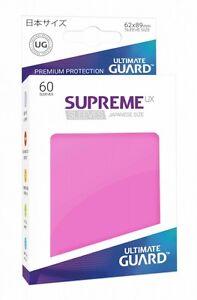 Ultimate Guard Supreme UX Sleeves Japanische Größe Pink (60)