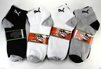 New Mens Women 12 Pairs Casual Ankle Quarter Crew Socks Cotton Size 9-11 Fashion