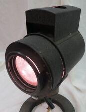 vintage miniature laboratory / theatre / theater light lamp works needs new cord