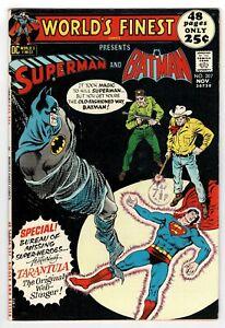 World's Finest - No 207 - 1971 BATMAN! HIGH GRADE!