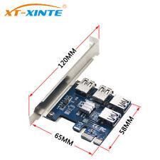 Riser Card PCI-E PCIe Port Multiplier Card PCI Express PCIe 1 to 4 PCI-E