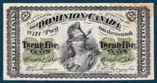 Dominion of Canada (1870) - 25 cents