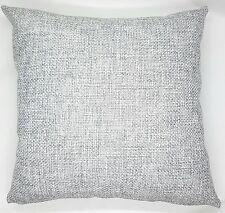 Handmade Light Grey Textured Home Decor Cushion Cover 45x45 New