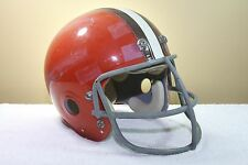CLEVELAND BROWNS Marietta Clear Shell Vintage Game Used Worn Football Helmet '73
