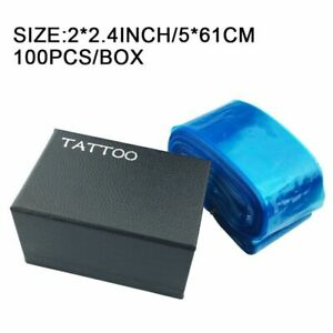 Tattoo Machine Supply Clip Cord Sleeves Cover Bag Disposable Plastic Hygiene
