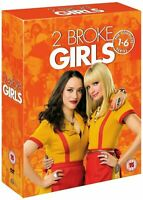 2 Broke Girls - The Complete Series Seasons 1-6 (DVD, 17-Disc ,2017)