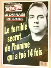 MAGAZINE NOUVEAU DETECTIVE N°357 / 1989 / LE CARNAGE DE LUXIOL / TB ETAT