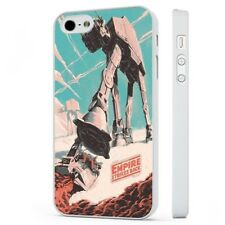 Empire Strikes Back Star Wars Poster WHITE PHONE CASE COVER fits iPHONE