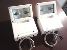 2 fari proiettori 150w per interni SIDE riflettori faretto illuminazione negozio