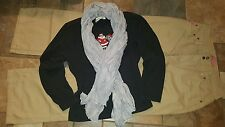 Women's clothing lot outfit sz 14 tall jeans Christmas shirt scarf low ship
